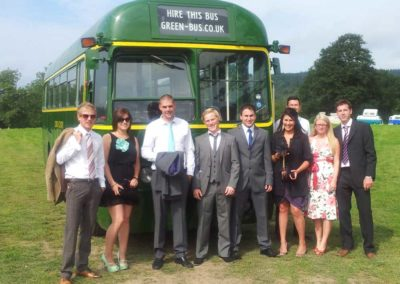 R05 Vintage bus hire for the races, birthdays, anniversaries and days out