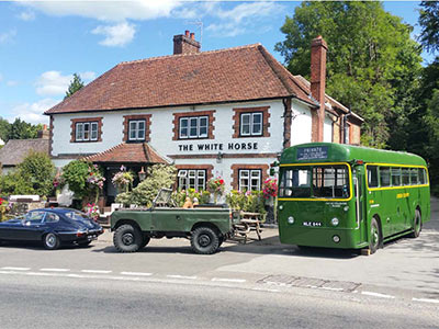 1953 Green single deck bus